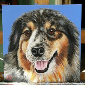 Annie!! 12x12 Canvas