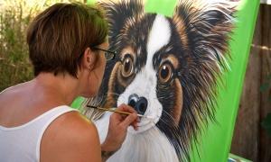 me painting finn