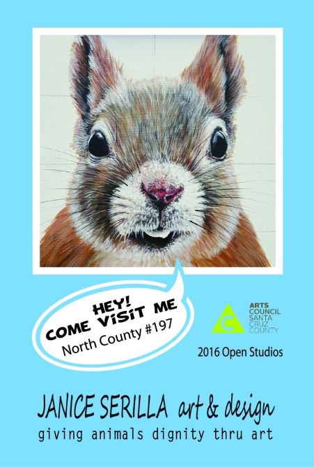 open studio postcard