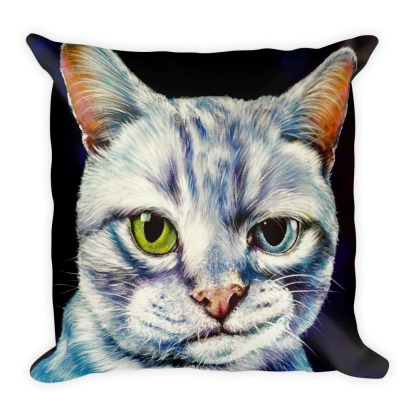 Pillow cover with insert